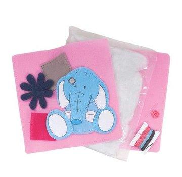 Kinder Bastelsets / Kids Craft Kits Vilt Kussen - Toots - My Blue Nose Friends