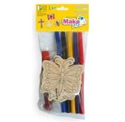 Kinder Bastelsets / Kids Craft Kits Craft Kit for Kids, set di legno.
