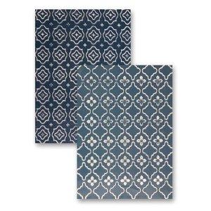 Spellbinders und Rayher Prägeshablone plastic M-Bossabilities with 2 motifs