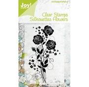 Joy Crafts, Transparent Stempel, Flowers 1.