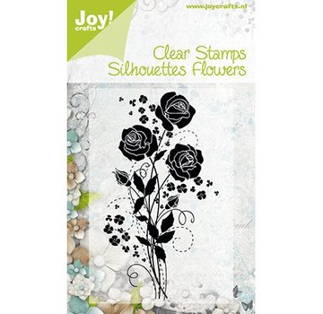 Joy Crafts, Clear frimærker, blomster 1