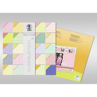 "Karten und Scrapbooking Papier, Papier blöcke Scrapbook Papier , ""Lotta 2"""