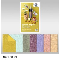 Effect of paper, crush paper, 21 x 33 cm, 120 gr / sqm,