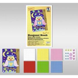 """Kinder Bastelsets / Kids Craft Kits Moosgummi Mosaik """"Eule"""""""