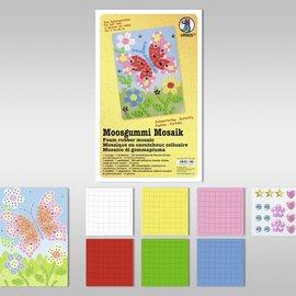 "Kinder Bastelsets / Kids Craft Kits Foam Mosaic ""Butterfly"""