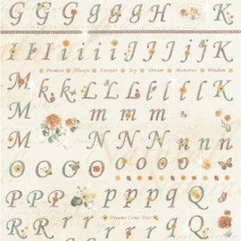 "Embellishments / Verzierungen Stickers: for card making, decoration, etc., ""Letters and Numbers"""