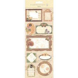 KARTEN und Zubehör / Cards Pegatinas: de fabricación de la tarjeta, decoración, etc, varios motivos, N ° 04