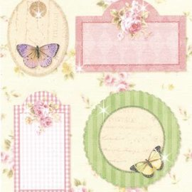 Gorjuss / Santoro Stickers: for kort at gøre, dekoration osv., forskellige motiver, nr. 08
