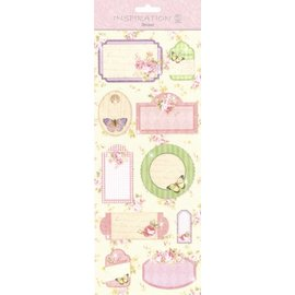 Gorjuss / Santoro Stickers: for card making, decoration etc., various motives, No. 08