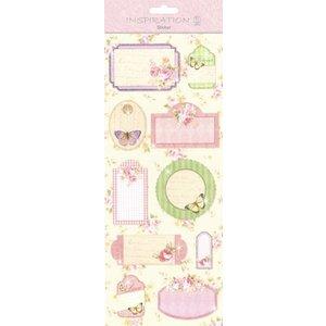 Gorjuss / Santoro Stickers: voor kaarten maken, decoratie, enz., diverse motieven, nr. 08