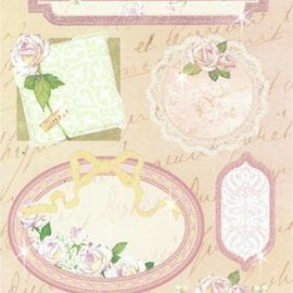 Sticker Stickers: for card making, decoration etc., various motives, No. 16