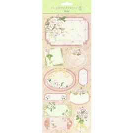 STICKER / AUTOCOLLANT Stickers: for card making, decoration etc., various motives, No. 16