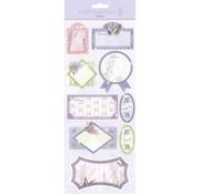 Sticker Autocollants: pour la fabrication de cartes, décoration, etc., des conceptions différentes