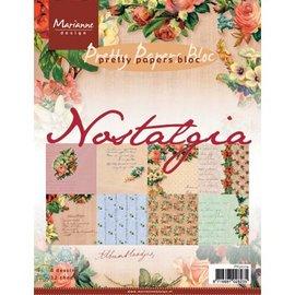 Karten und Scrapbooking Papier, Papier blöcke Nostalgia A5 paper Block.