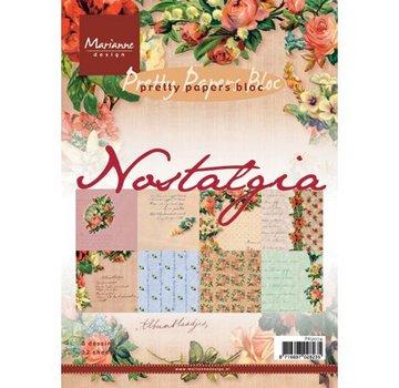 Karten und Scrapbooking Papier, Papier blöcke Nostalgia A5 carta pad.