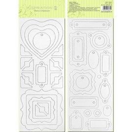 Blanco chip board, voorgesneden, klaar om worden gepersonaliseerd, afbeelding 3