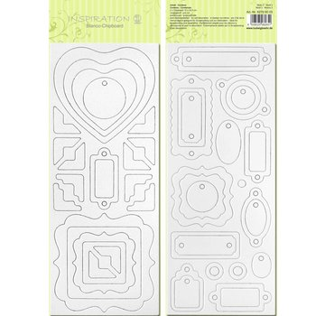 Blanco bordo chip, pre-tagliati, pronti per essere personalizzati, immagine 3