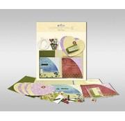 """KARTEN und Zubehör / Cards Set di carte per essere personalizzato, """"cuore"""", dimensioni 7,8 x 13,5 cm,"""