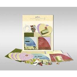 """KARTEN und Zubehör / Cards Sett med kort for å være personlig, """"hjerte"""", størrelse 7,8 x 13,5 cm,"""