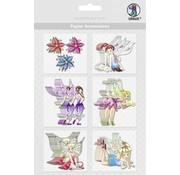 Embellishments / Verzierungen Papier Accessoires, Motiv 37