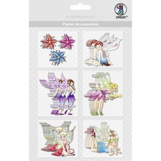 Embellishments / Verzierungen Papier accessoires, Motif 37
