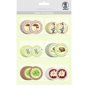 Embellishments / Verzierungen 30 smukke spånplader