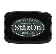 FARBE / STEMPELKISSEN Encre de tampon StaZon - Gris pierre