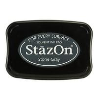 StaZon stamp ink - Stone Gray