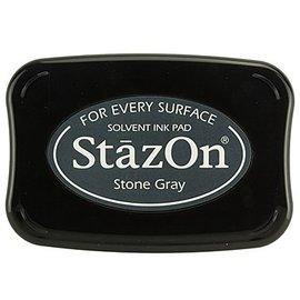 FARBE / STEMPELKISSEN StaZon Stempeltinte - Stone Gray
