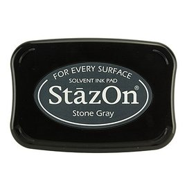 FARBE / STEMPELKISSEN StaZon frimærkeblæk - Stone Grey