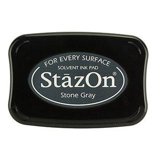FARBE / STEMPELKISSEN StaZon stempelinkt - Stone Grey