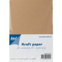 Kraftpapier, A4 , 300gr, 25 Blatt