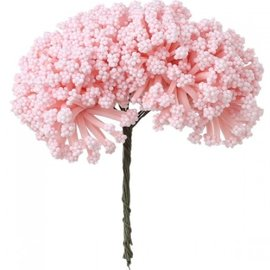 BLUMEN (MINI) UND ACCESOIRES Mini mazzo, colore rosa, look vintage