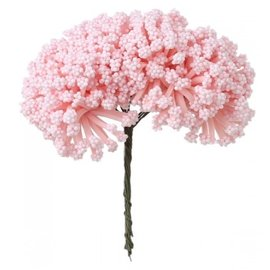 BLUMEN (MINI) UND ACCESOIRES Mini bukett, rosa, vintage look