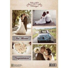Nellie Snellen A4 broadsheet, mariage