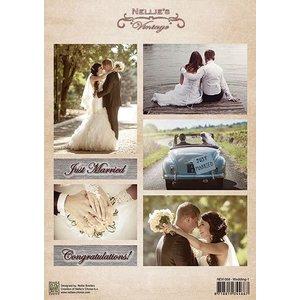 Nellie Snellen A4 vlugschrift, bruiloft