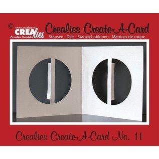 Crealies und CraftEmotions Ponsen en embossing sjabloon: Kartengestaltung