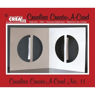 Crealies und CraftEmotions Punching and embossing template: Kartengestaltung