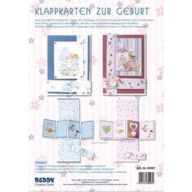 BASTELSETS / CRAFT KITS Notecards Set geboorte
