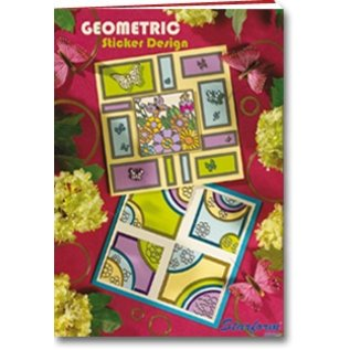 Bücher, Zeitschriften und CD / Magazines A5 cartella di lavoro: Geometrico Sticker design