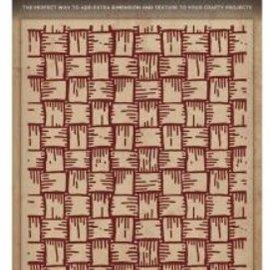 embossing Präge Folder Gofrado carpetas texturas, armadura de cesta