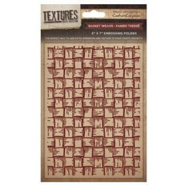 embossing Präge Folder Gaufrage dossiers Textures, Basket Weave