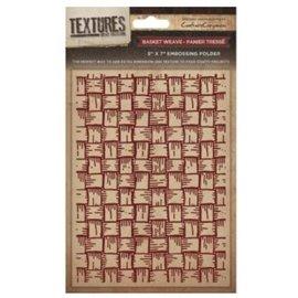 embossing Präge Folder Goffratura cartelle Textures, Basket Weave