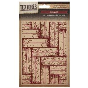 embossing Präge Folder Prägefolder Textures, Parket Motiv