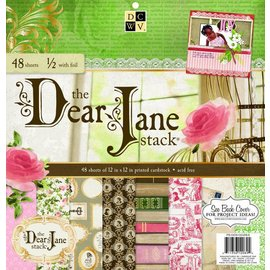 "DCWV und Sugar Plum Designerblock, ""Dear Jane""-"