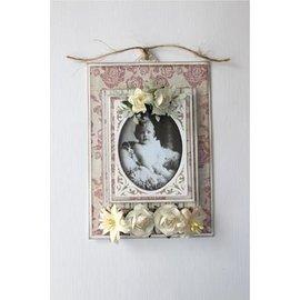 Skære- og prægeskabeloner: Vintage frame, ovale