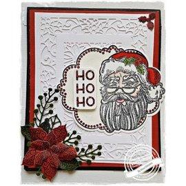 CREATIVE EXPRESSIONS und COUTURE CREATIONS Gummi Stempel: Weihnachtsmotive