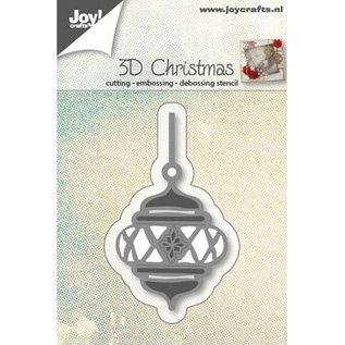Ponsen en embossing sjablonen: 3D Bal van Kerstmis