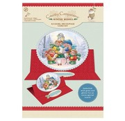 """BASTELSETS / CRAFT KITS A5 Easel Decoupage Card Kit, """"Winter Wishes"""" Nur noch wenige zur Verfügung!"""