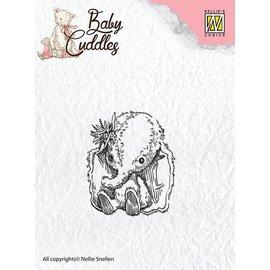 Nellie Snellen tampons transparents, bébé éléphant